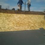 Ridge Repair Work